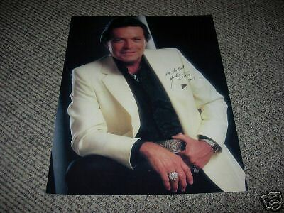 Mickey Gilley IP Signed Autographed 11x14 Photo Country