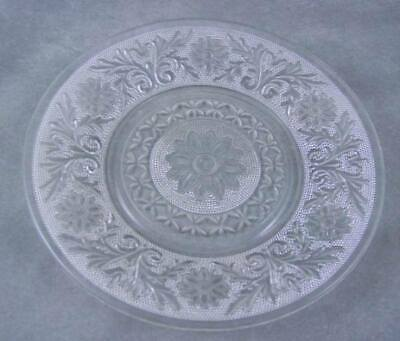 Hocking Glass Sandwich Dessert Plate Crystal/Clear EXC
