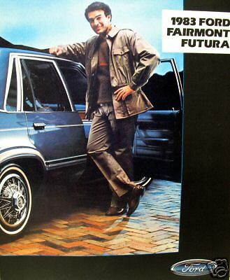 1983 Ford Fairmont Futura new vehicle brochure