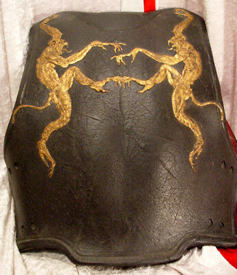 Planet Of The Apes Thades Back Plate Armor Gold Monkeys