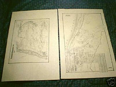 Rensselaer NY 1876  Maps with Homeowners
