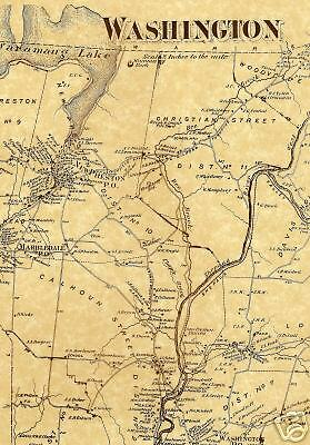 Woodville  CT  1874  Maps with Homeowners Shown