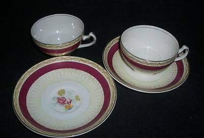 SARACEN by ALFRED MEAKIN CHINA TEA CUP & SAUCER SET (s)