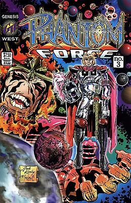 Phantom Force    # 3 - Comic - 1994 -  9.4