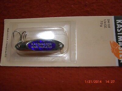 6278 Acme Kastmaster Lure with Flash Tape Red 1//4-Ounce Chrome