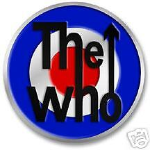 The Who ~ Target ~ Pewter Belt Buckle