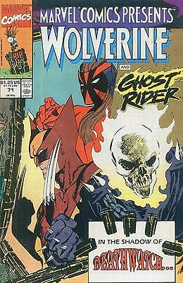 Marvel Comics Presents # 71 - Comic - 1991 - 9.2