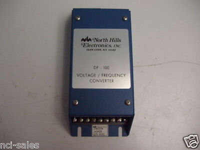 North Hills Electronics Inc. Voltage/frequency Converter Model# Df-100-1-3-Is