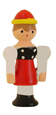 NEW Novelty Wood Girl Cuckoo Clock Figure - Made in Germany (CC-205)