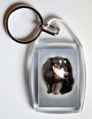 Saluki Key Ring By Starprint