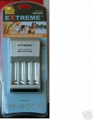 Extreme Smart Fast Battery Charger For Aa/aaa (S)