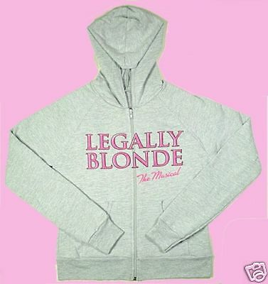 LEGALLY BLONDE ZIP HOODIE SIZE SMALL - NEW