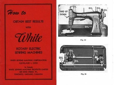 User Instructions-General- For White Rotary Electric