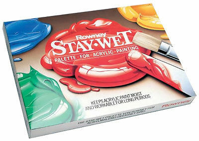 Daler Rowney Stay Wet Mixing Palette for Acrylics - Staywet Small