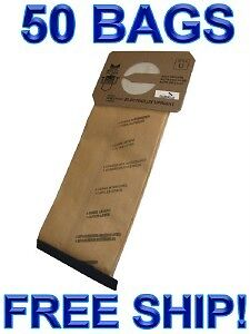 50 Bags for Electrolux Upright Vacuum Cleaner  STYLE U