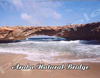 ARUBA - Natural Bridge - Travel Souvenir Flexible Fridge Magnet