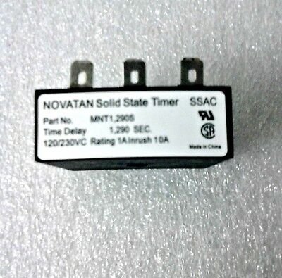 Tanning Bed Redundant Timer 120/220VAC, 21.5min P00996 23112-02
