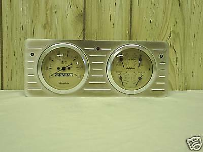 40 TO 47 FORD TRUCK QUAD GAUGE DASH CLUSTER TAN