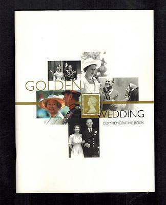 ROYAL MAIL GOLDEN WEDDING  COMMEMORATIVE BOOK  OF PHQ 's