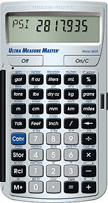Metric Conversion Calculator Ultra Measure Master 8030 - Replaces The 8025