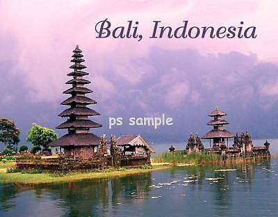 Indonesia - BALI - Travel Souvenir Flexible Fridge Magnet
