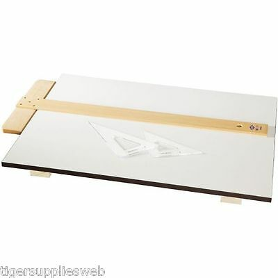 Alvin Drafting Drawing Board KIT! w/ T-Square & 2 Triangles