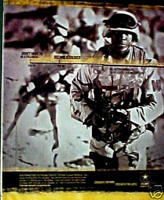 U.S. Military Police Army Squad Leader Soldier Print AD