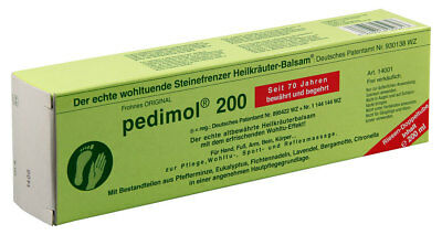 1 x Pedimol 200 Massage Cream Joint Muscles Pain Relief Reflex back and leg ache