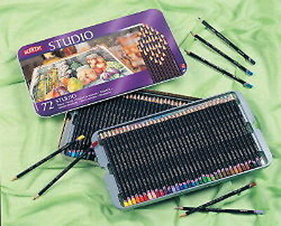 Derwent Studio Pencils 72 Colour Tin