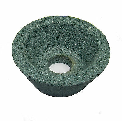 RDGTOOLS 80mm Green Grinding Cup Wheel Silicon Carbide