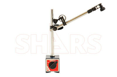 Shars 135 Lbs Magnetic Base 4 Ways For Test /& Dial Indicator Base Only New