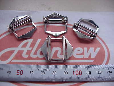 "4 TOP QUALITY BRITISH 3/4"" tape  WAISTCOAT LADDER BUCKLES"