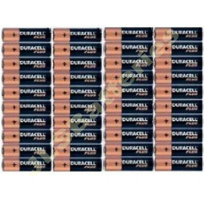 40 DURACELL Plus AAA MN2400 LR03 Batteries Dated 2027