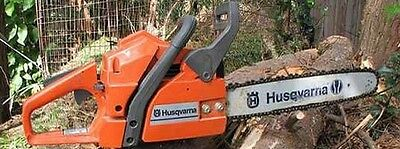 Husqvarna Chainsaw 61 Illustrated Parts List