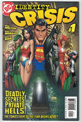 IDENTITY CRISIS #1 - First Print - NM Comic - DC Event!