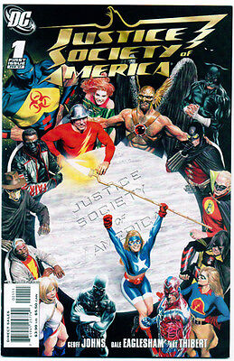 JUSTICE SOCIETY OF AMERICA #1 - NM Comic - Geoff Johns!