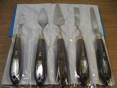 Seawhite of Brighton 5 x Painting Knife Set