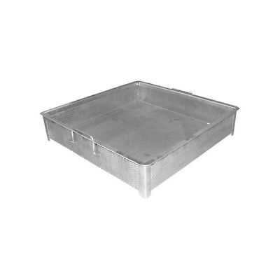 "Compartment Sink Drain Basket 18""x18"""