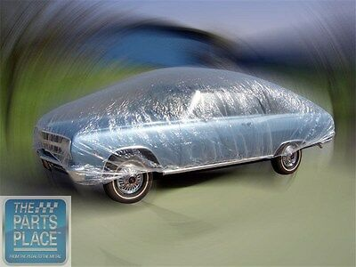 20 ft Clear Reusable Car Cover / Dust Cover / Rain Cover For Car Show / Garage