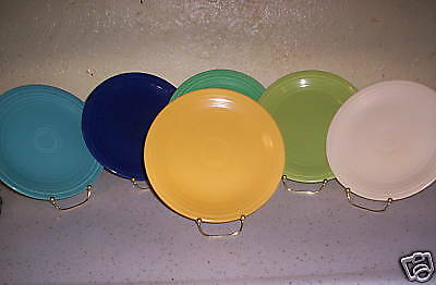 "VINTAGE FIESTA 9.5"" yellow luncheon PLATE"