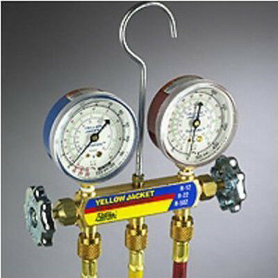 Manifold Charging Gauges w/ 5' hoses - Yellow Jacket
