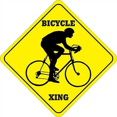 Bicycle Xing Signs Many More Crossings Available