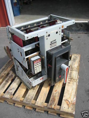 General Electric AKR-6D-75 3200 Amp Air Breaker w LSG MVT Trip TA9VT32MGA3 GE MO