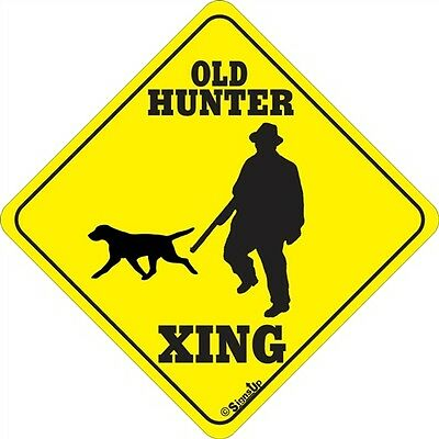 Old Hunter Xing Sign