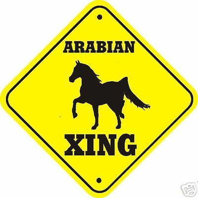 Arabian Horse Xing Sign