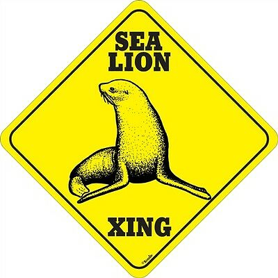 Sea Lion Xing Sign