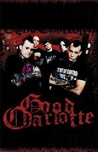 Good Charlotte music poster. Excellent Cond. NEW