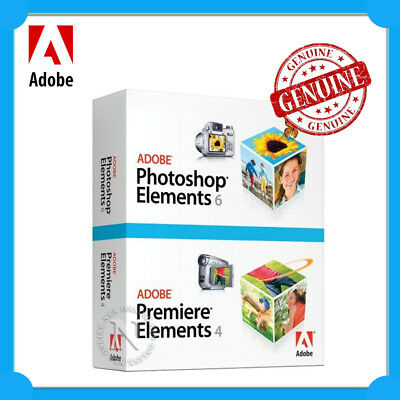 ADOBE Photoshop 6.0 +Premiere Elements 4.0 Full Install