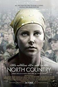 NORTH COUNTRY 27x40 D/S Original Movie Poster One Sheet CHARLIZE THERON