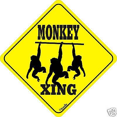 Monkey Xing Sign